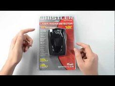 Whistler XTR-690SE Radar Detector Unboxing
