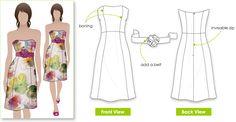Style Arc Donna Dress