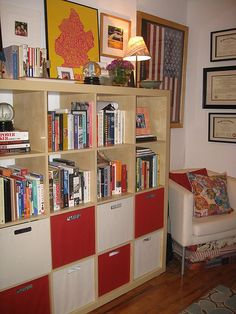 Target Itso bins in Expedit shelves