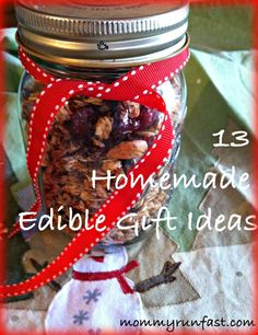 13 Homemade Edible Gift Ideas