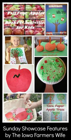 The Iowa Farmer's Wife: The Sunday Showcase: Apples Activities