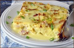 (Make-Ahead) Eggs Benedict Casserole from Very Culinary