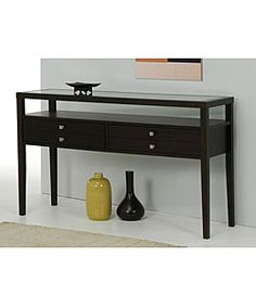@Overstock - Give your living room, study, or office a contemporary touch with the finely crafted Aristo Console Table.http://www.overstock.com/Home-Garden/Aristo-Halifax-Brown-Console-Table/2034825/product.html?CID=214117 $271.99