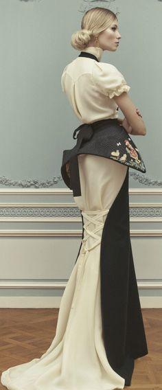 Ulyana Sergeenko Couture SS 2013  Repinned by www.fashion.net