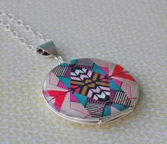 Verabel + FOX Art Locket Collaboration. The patterns are always stunning!