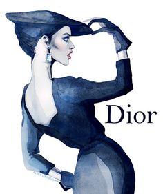 ALINA GRINPAUKA, Dior