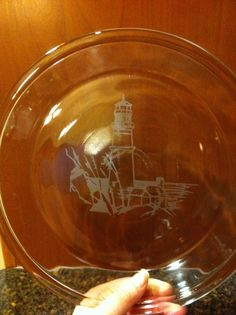 Pie Plates, weddings, housewarming, hostess gifts! Custom etching