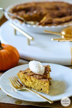 Pumpkin Snickerdoodle Pie!