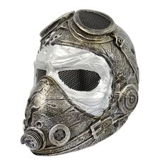 Airsoft Paintball Full Face Wire Mesh Protection Kamikaze WWII Pilot Mask M016G  (A little more paint & a few gears added...)