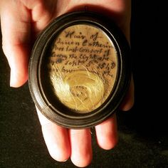 A lock of Catherine Parr's hair.
