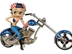 Betty Boop Screensaver Wallpaper | Betty Boop American Chopper Wallpaper