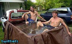Redneck swimming pool?