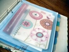 Household Binder {meal plans, menus, important info, cleaning schedule, etc.} will be making this!!