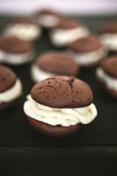 the chew | Recipe | Carla Hall's Choco-holic Whoopie Pies