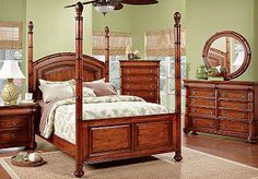 This is the bedroom set that my husband and I bought yesterday. I'm more than a little excited to have them deliver it sometime in the next month.
