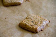 lavender (+ earl grey) shortbread (whole grain)