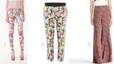 floral pants for summer