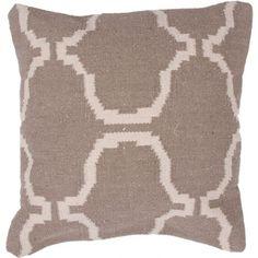 Jaipur Alhambra Pearl Throw Pillow | Pure Home