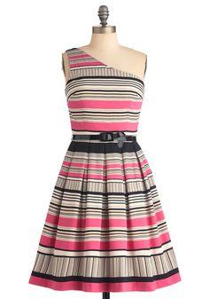 Stripe It or Not Dress