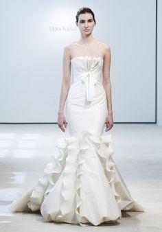 mermaid wedding dresses vera wang