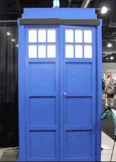 my gifs doctor who the doctor cosplay David Tennant TARDIS Deadpool