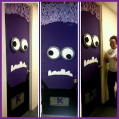 Purple Minion Door Decoration!