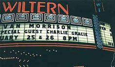 Charlie opened for Van Morrison at the Wiltern, Los Angeles, 2000.