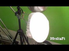 DIY Camera Lighting Idea - Under $20.00 - Works like a Softbox! - YouTube