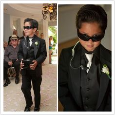 Ring bearer/Security guard