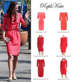 Shop repliKates of the Goat 'Scarlett' dress