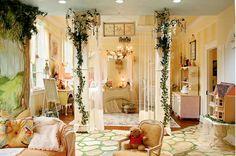 storybook girls room