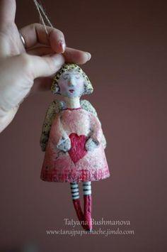 """""""Angel Pendant"""" by Tatyana Bushmanova"""