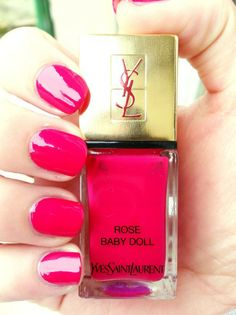 Rose Baby Doll Yves Saint Laurent     |   Visit my nail Lacquers and Nail Art pinterest over 11,000 pins @opulentnails #nailpolish #OPI #Butter #Narns #Dior #Evie #Essie #MichaelKors  #TomFord #YSL