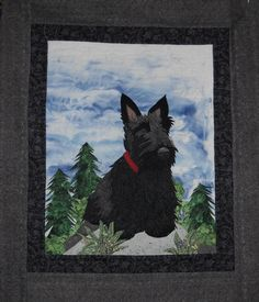 Scotty Dog Quilt Block