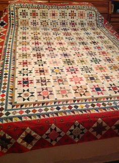 Sue Garman: Endless Quilts. Mde from Sue's 'Ancient Stars' pattern