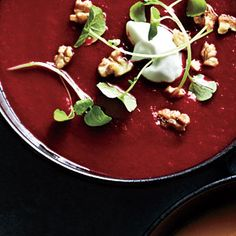 Spiced Beet and Carrot Soup | MyRecipes.com