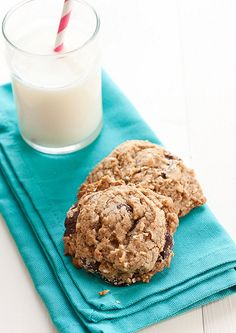 Espresso Dark Chocolate Coconut Cookies