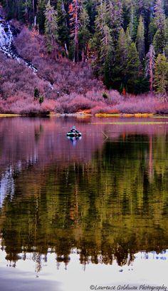 Twin Lakes near Mammoth Lakes, California