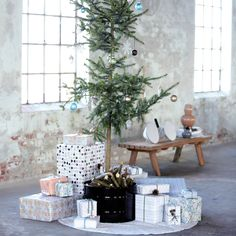 Industrial Christmas Styling.
