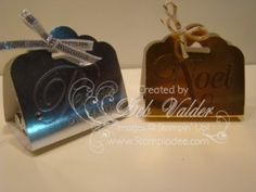 NEW Scalloped Tag Topper Punch with Deb Valder