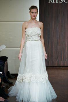 gorgeous dress - badgley mischka