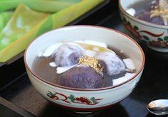 học nấu ăn chè trôi nước khoai lang tím -12