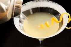 Lemon drop martini.  Now that's a glass of sunshine!!