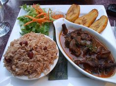 I could really go for some of this right now. . .Haitian food
