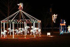 ponca city ok christmas lights   Ponca City's Holiday Festival of Angels