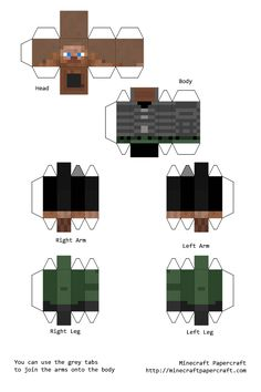 Image detail for -Planet Minecraft • View topic - The Standardized Papercraft