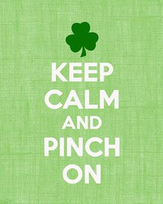 St. Patrick's day is almost here!!