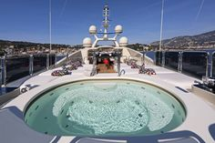 Ulysses Yacht Jacuzzi