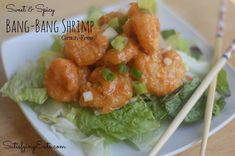 Sweet & Spicy Bang-Bang Shrimp | www.satisfyingeats.com meal planning, bang bang shrimp, grain free, dinners, dairy free, dinner recipes, main dishes, bangs, bangbang shrimp