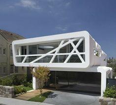 Stacked Hillside House Balances Beach Views with Privacy | Designs & Ideas on Dornob